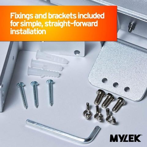 MYLEK 3kW Electric Patio Heater Wall