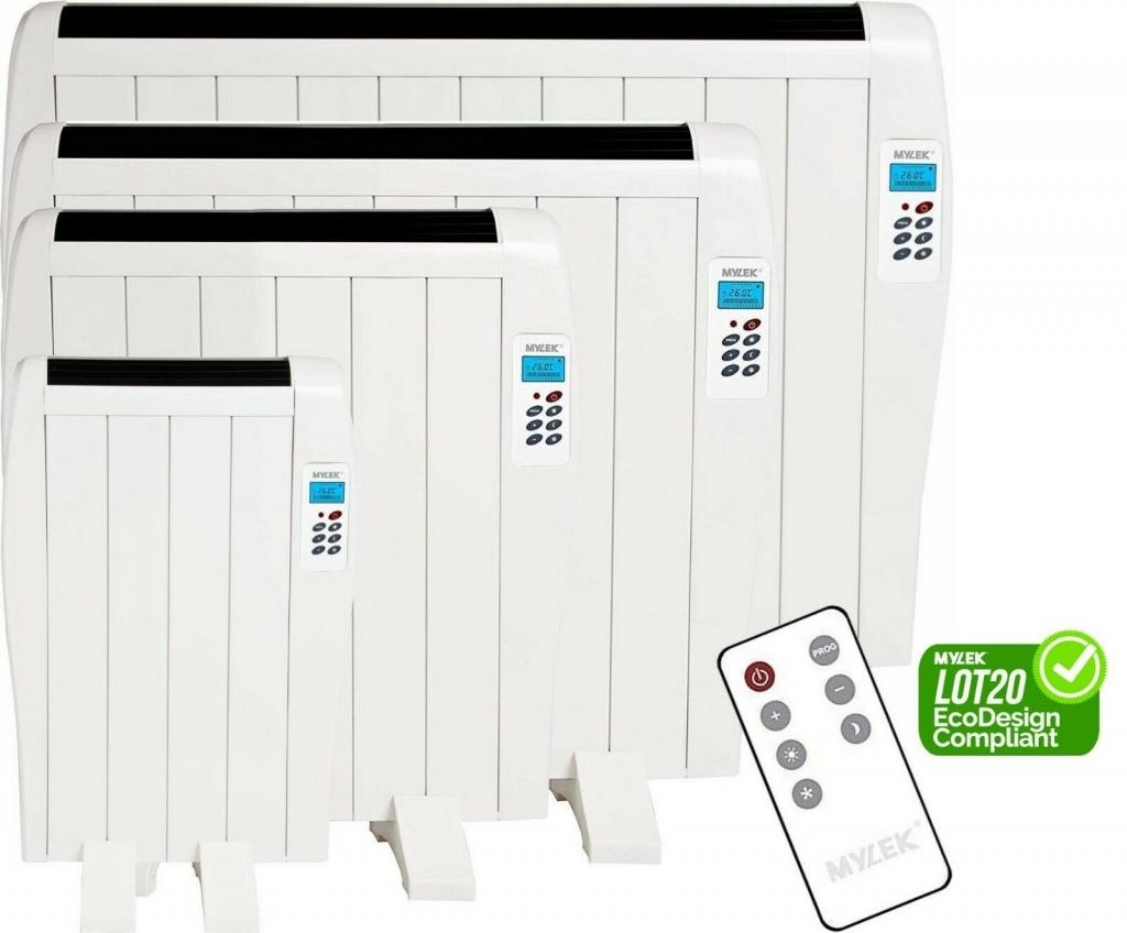 Mylek ERP compliant aluminium panel heater